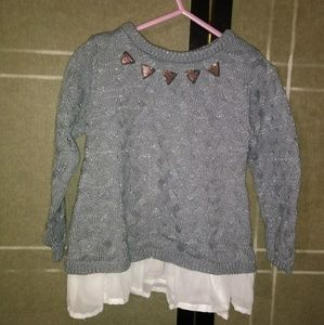 Sparkly Little Lass Sweater - 24 mons